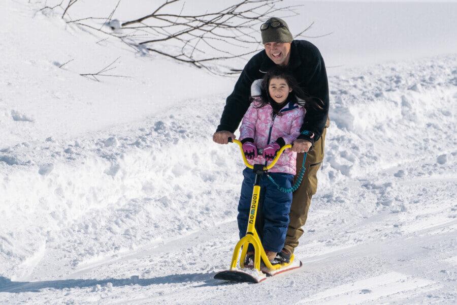 雪國冬天的玩法