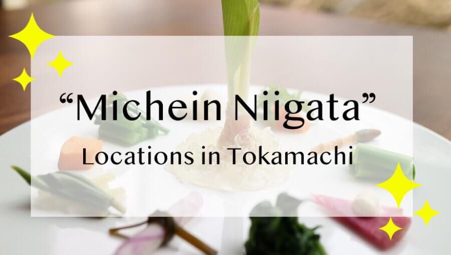 Michelin Guide-ranked Restaurants in Tokamachi