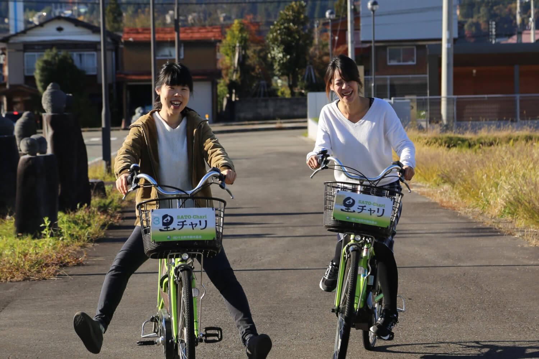電動アシスト自転車で楽々!アートめぐり(絵本と木の実の美術館編)