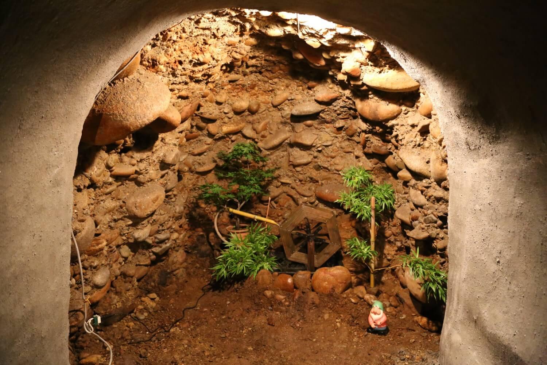 芋穴の水車